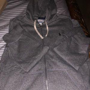 NWT POLO Ralph Lauren sweats with hoodie.